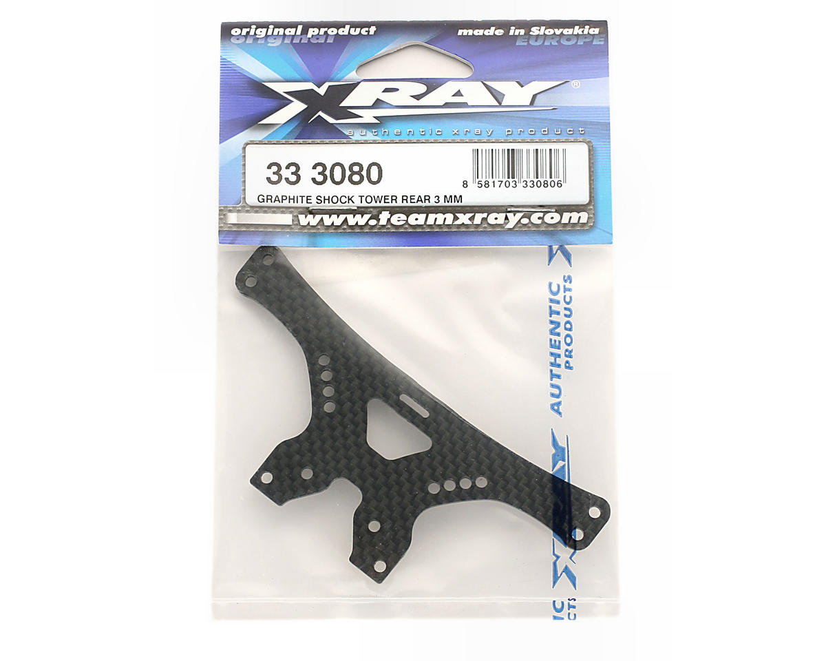 XRAY Graphite Shock Tower Rear 3mm (NT1)