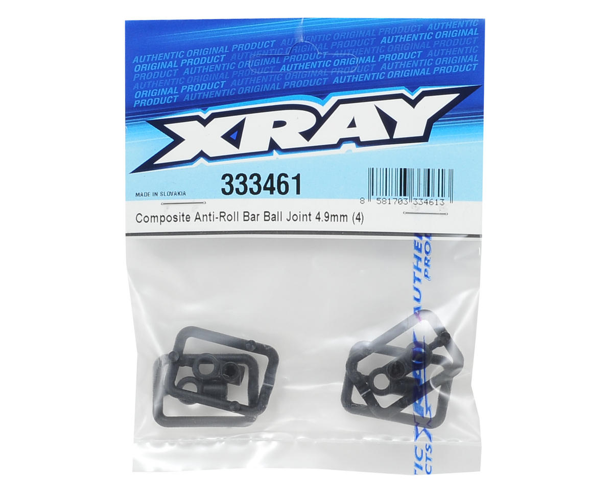 XRAY 4.9mm Composite Anti-Roll Bar Ball Joint (4)