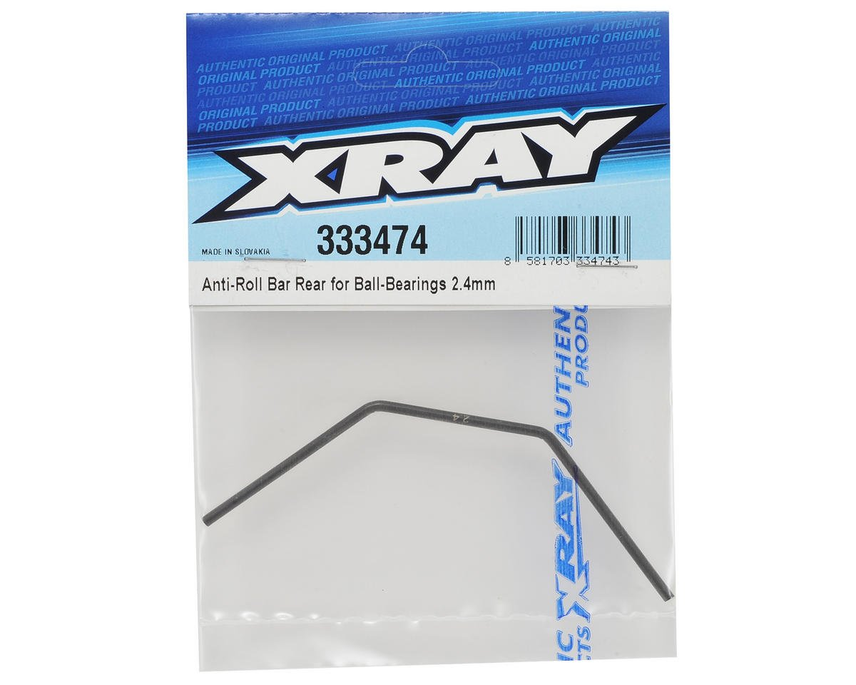XRAY 2.4mm Bearing Supported Rear Anti-Roll Bar