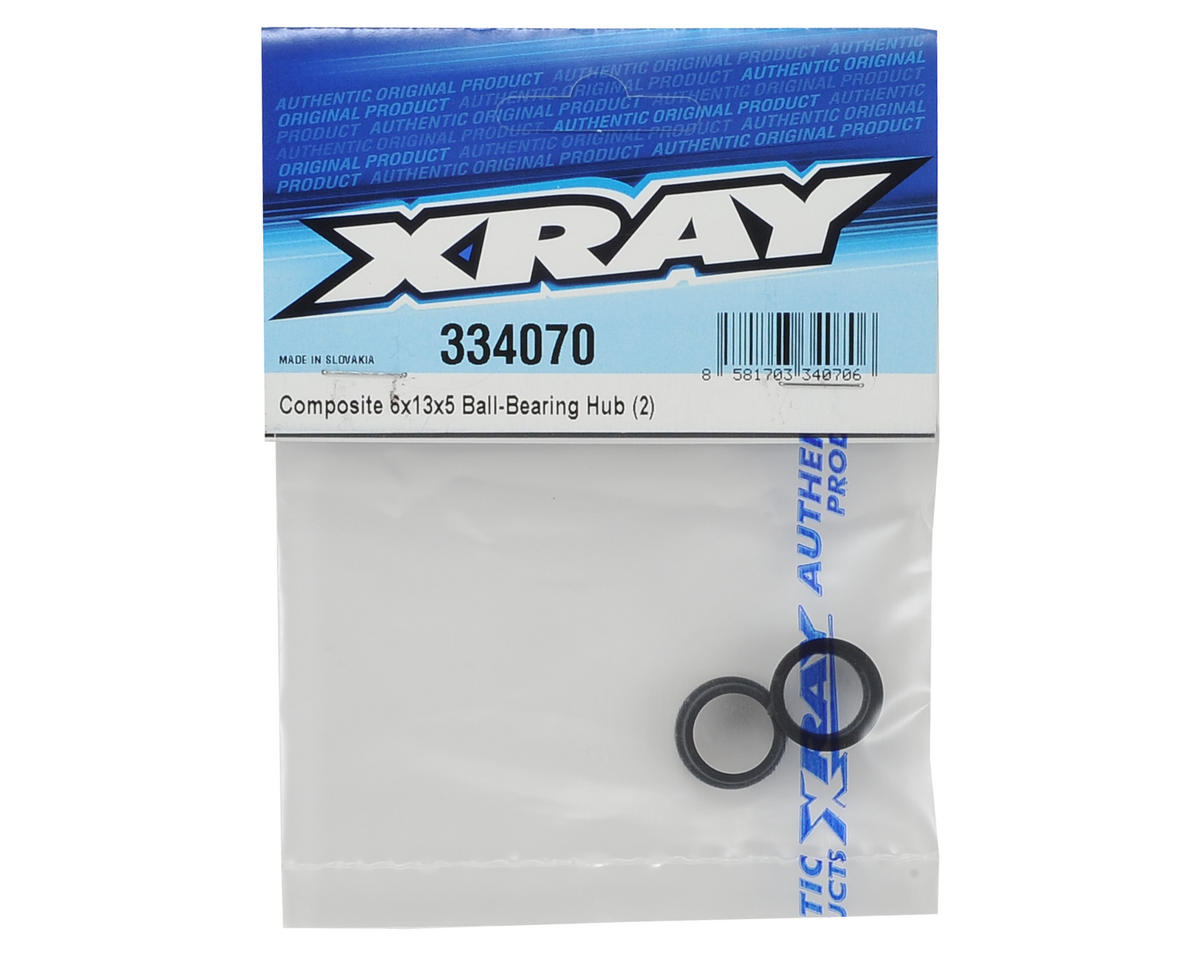 XRAY 6x13x5mm Composite Ball Bearing Hub Insert (2)