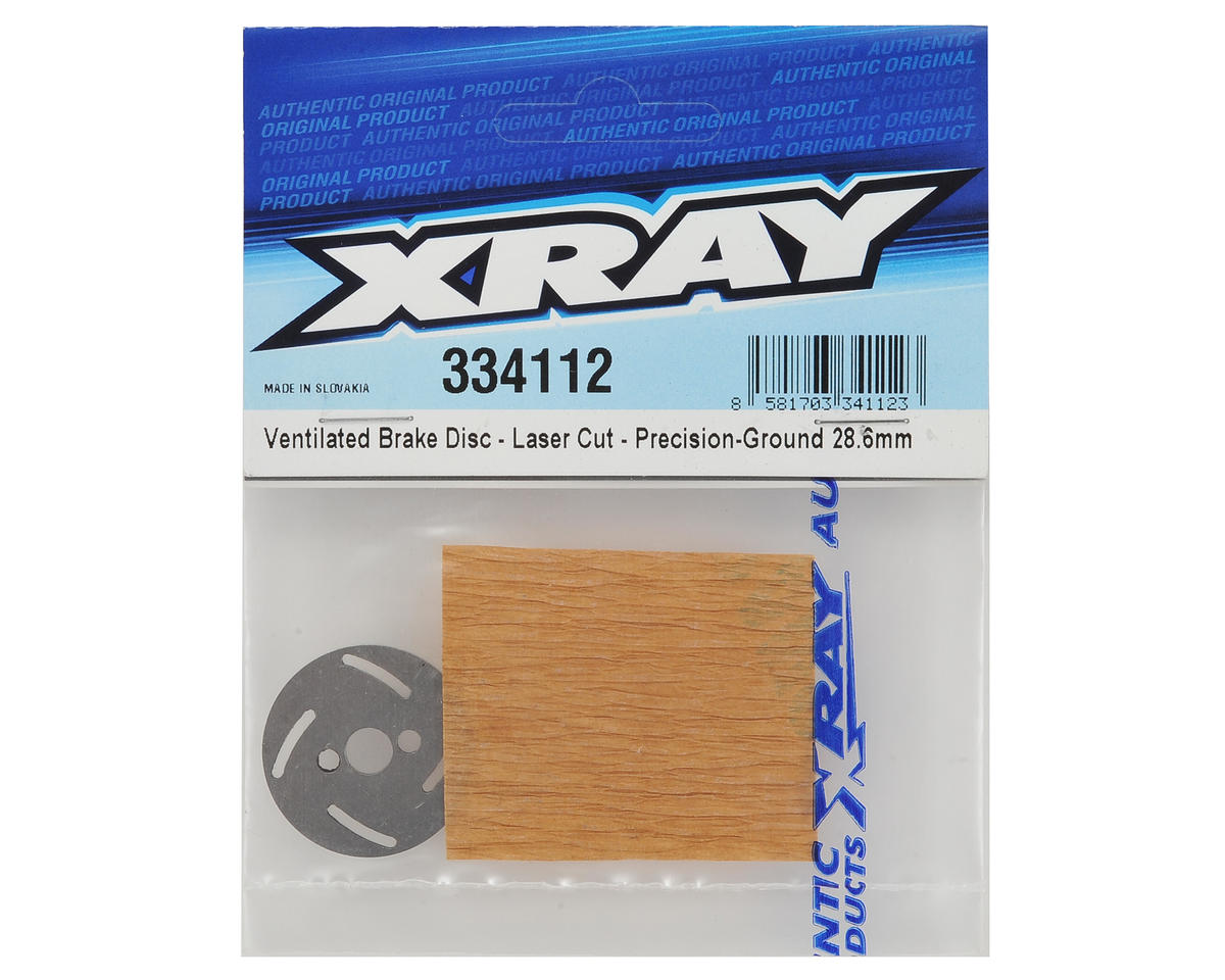 XRAY NT1 28.6mm Precision Ground Ventilated Brake Disc