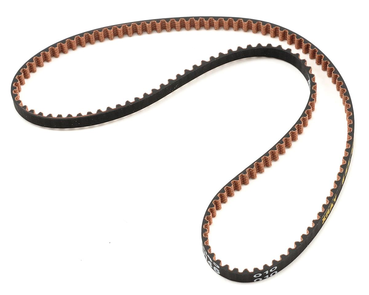 "4.5x396mm High Performance ""V2"" Side Drive Belt by XRAY"