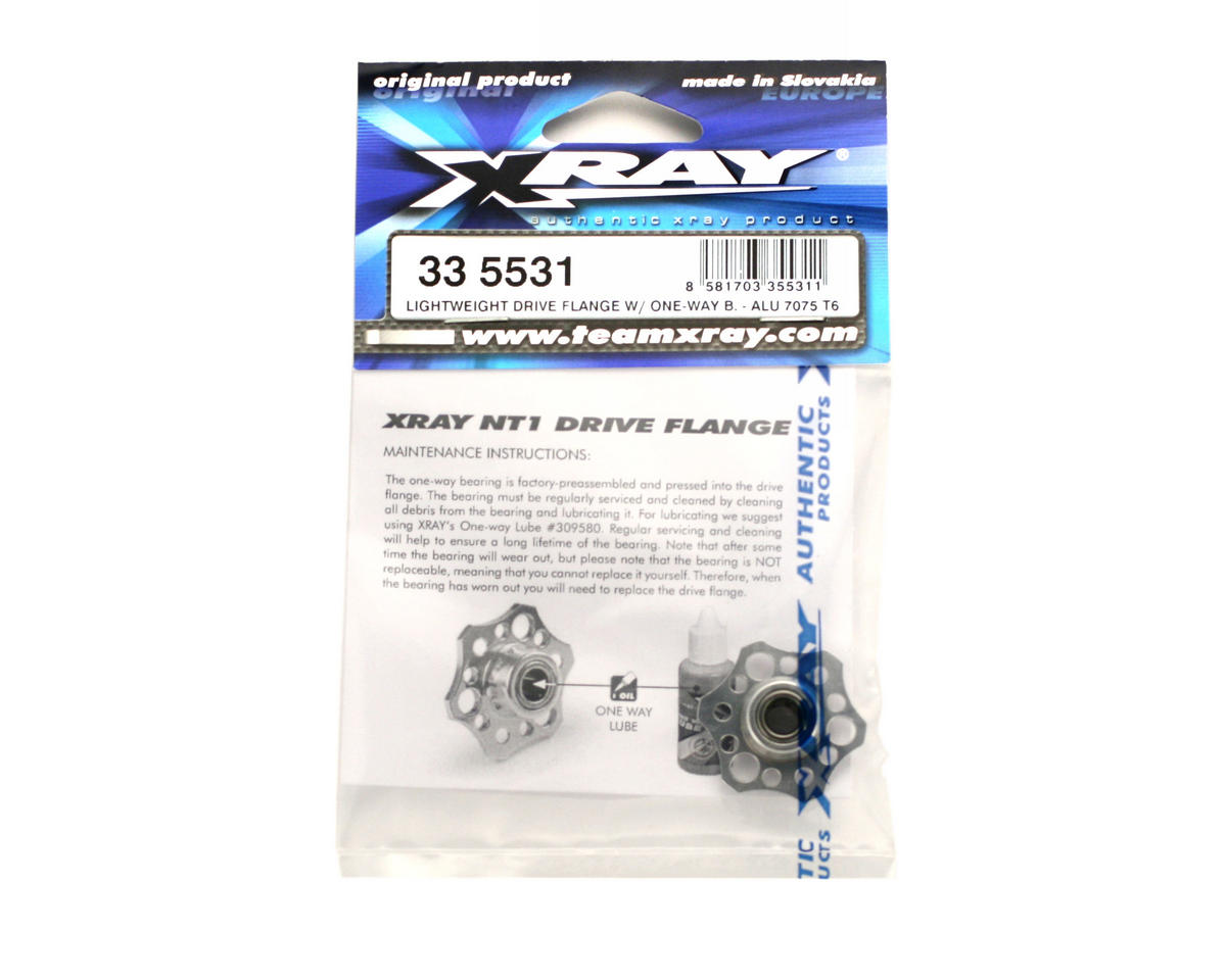 XRAY Lightweight Drive Flange With One-Way Bearing - Aluminum 7075 T6