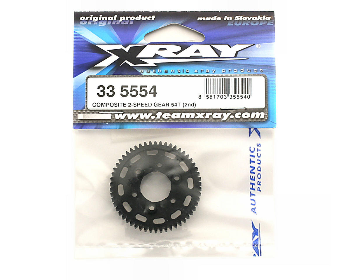 XRAY Composite 2-Speed Gear 54T (2Nd)