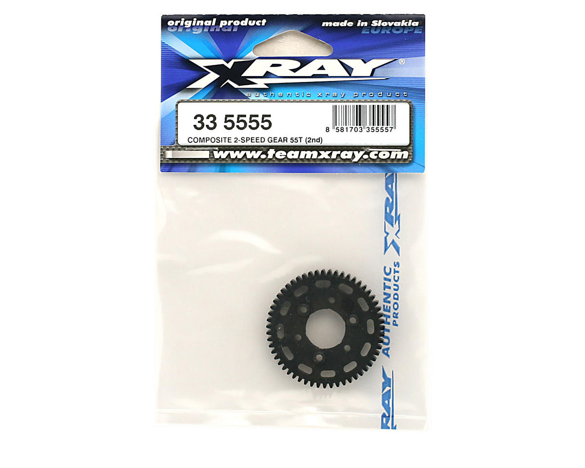 Image 2 for XRAY Composite 2-Speed Gear 55T (2Nd)