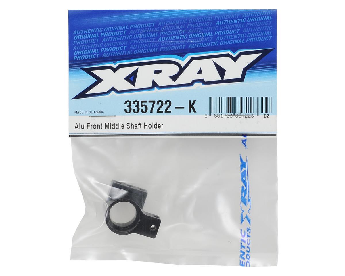 XRAY Aluminum Front Middle Shaft Holder (Black)