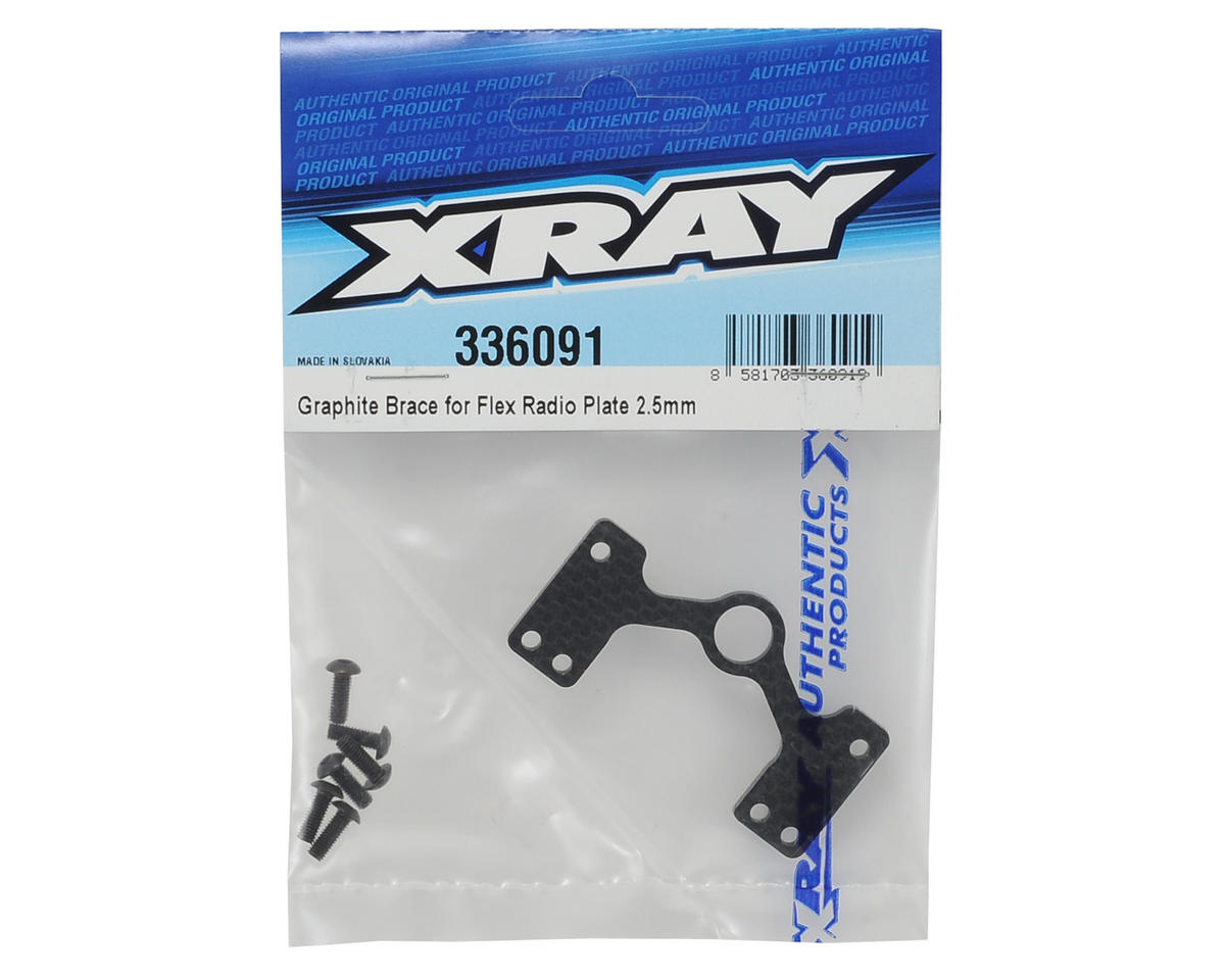 "XRAY 2.5mm Graphite ""Multi-Flex"" Brace"