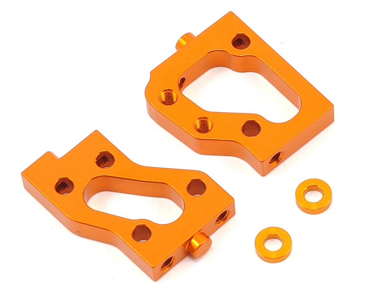 XRAY NT1 Aluminum Radio Plate Mount Set (Orange)