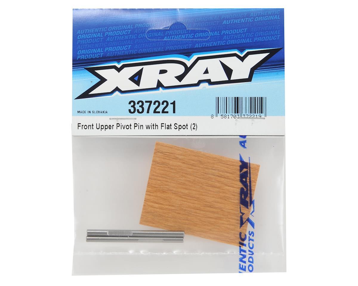 XRAY Front Upper Pivot Pin w/Flat Spot (2)