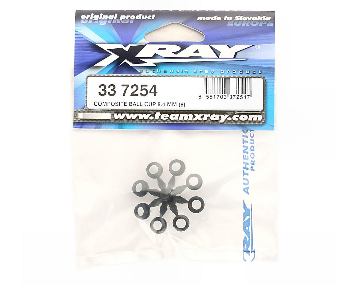 XRAY Plastic Ball Cup 8.4mm (NT1) (8)