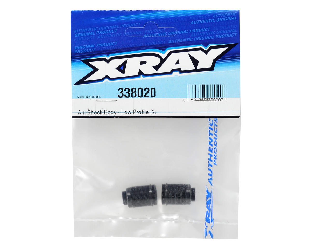 XRAY Low Profile Aluminum Shock Body (2)