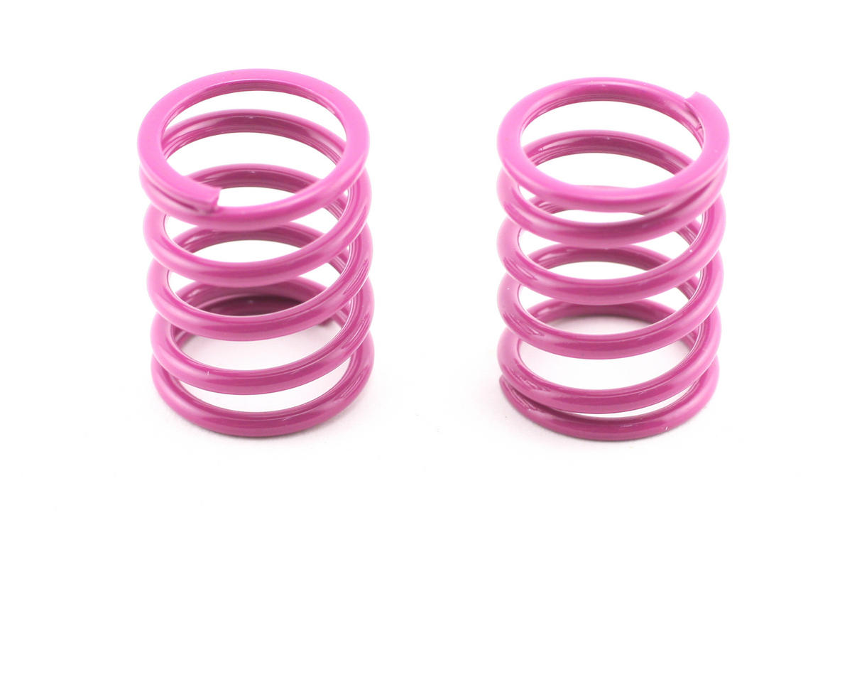 Shock Spring Set D=1.8 (35.5lb - Medium-Hard) (Purple) (2) by XRAY