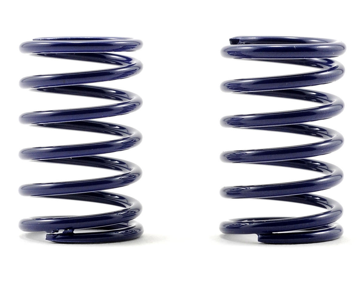 XRAY T1 Rear Shock Spring Set D=1.7 (25lb - Soft/Medium) (Dark Blue) (2)