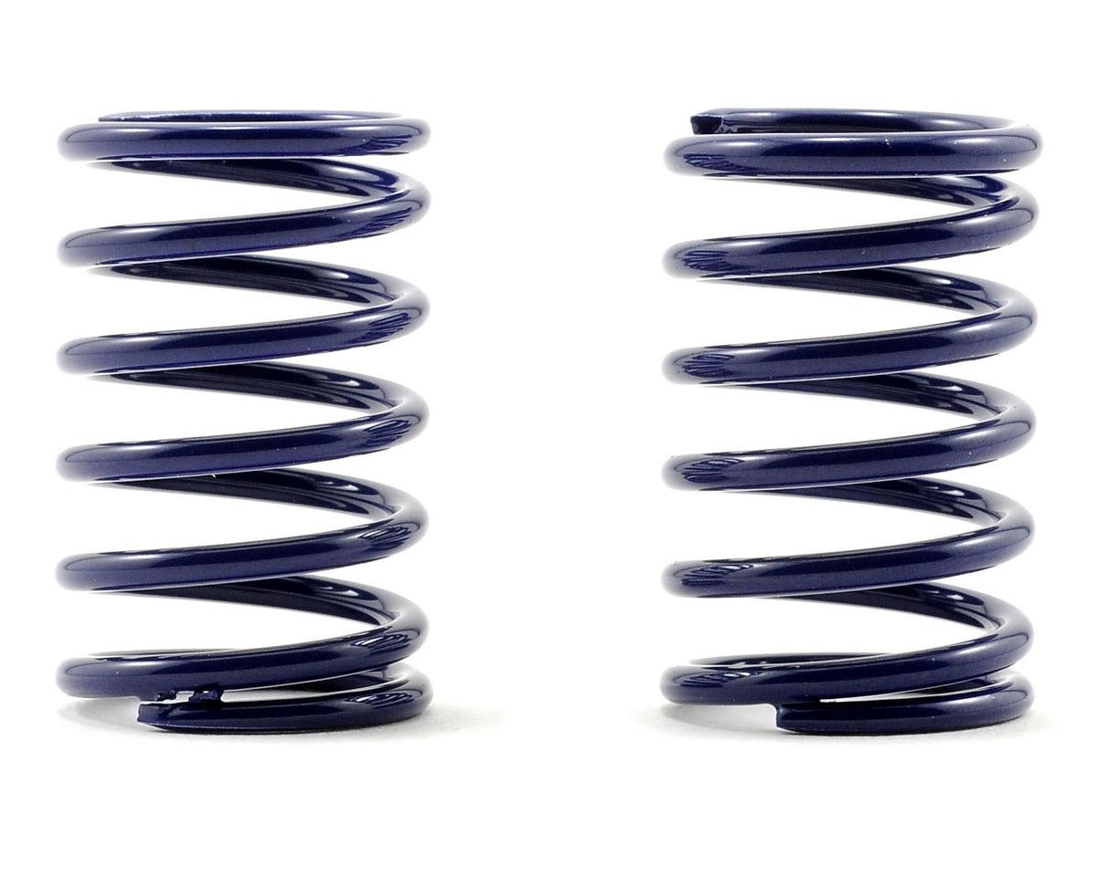 XRAY T2 008 Rear Shock Spring Set D=1.7 (25lb - Soft/Medium) (Dark Blue) (2)
