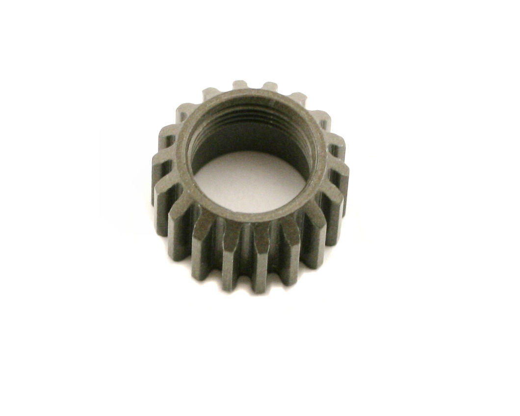 XCA Aluminum 1st Gear Pinion (18T) by XRAY