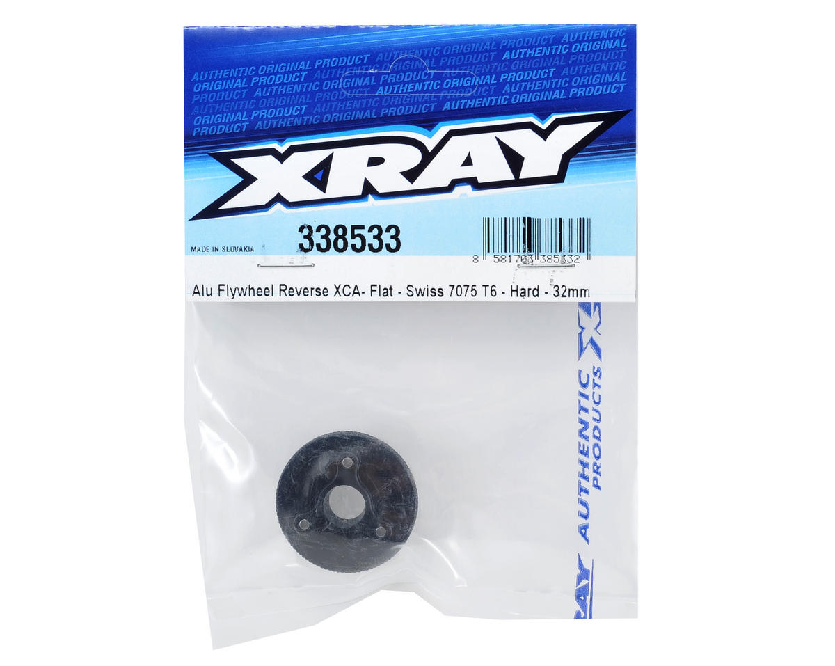 XRAY 32mm Aluminum Flat Flywheel (Hardcoated)