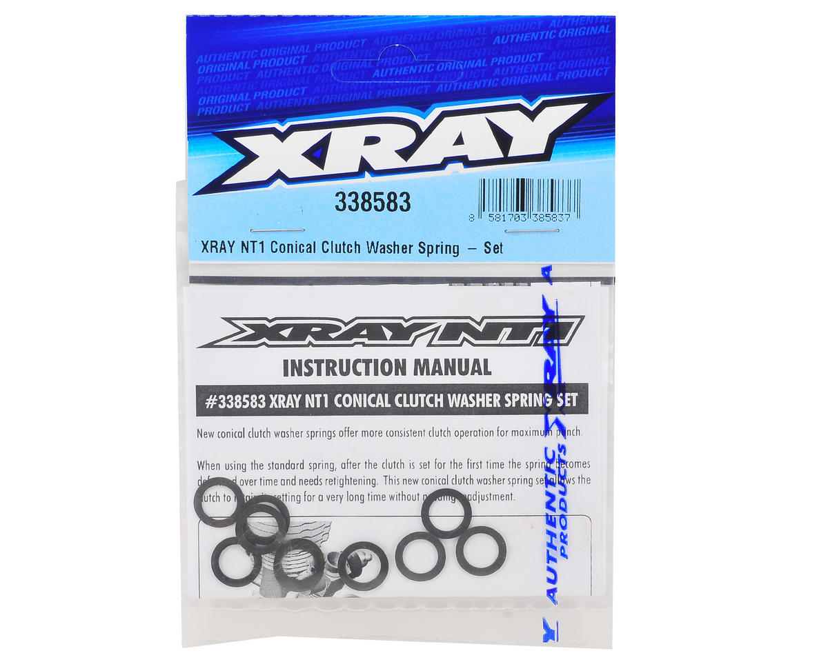 Conical Clutch Washer Spring Set by XRAY