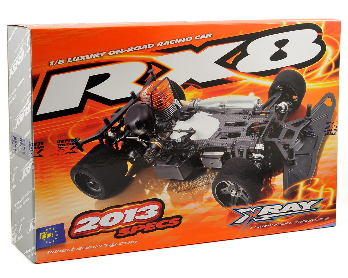 XRAY RX8 2013 Spec 1/8 On Road Competition Racing Car Kit