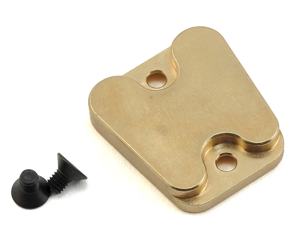 Brass Middle Chassis Weight (19g) by XRAY