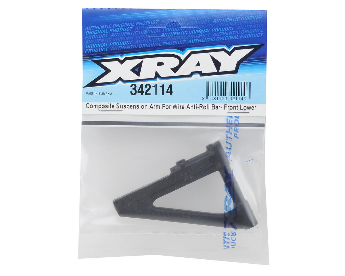 Front Lower Composite Suspension Arm by XRAY