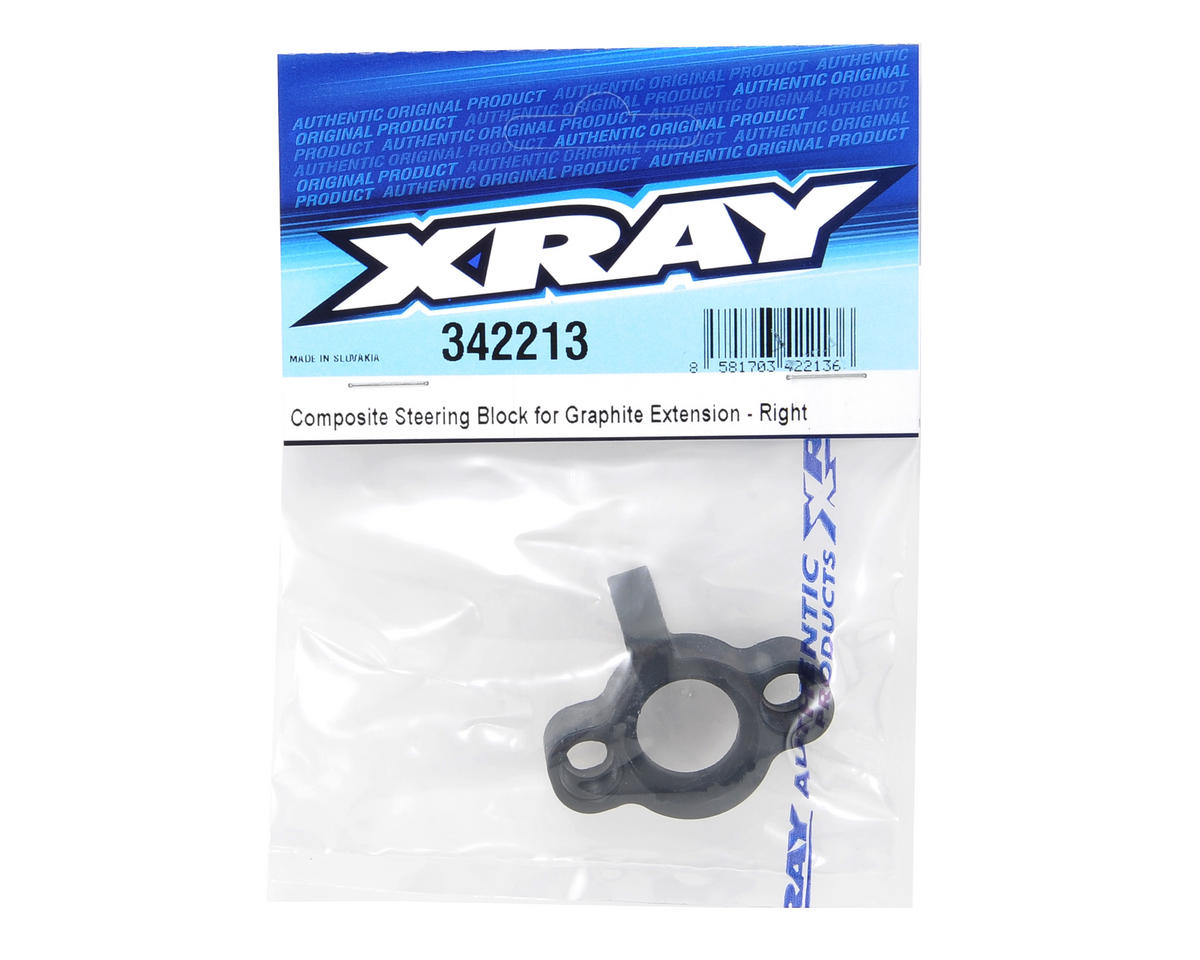 XRAY Composite Steering Block (Right)