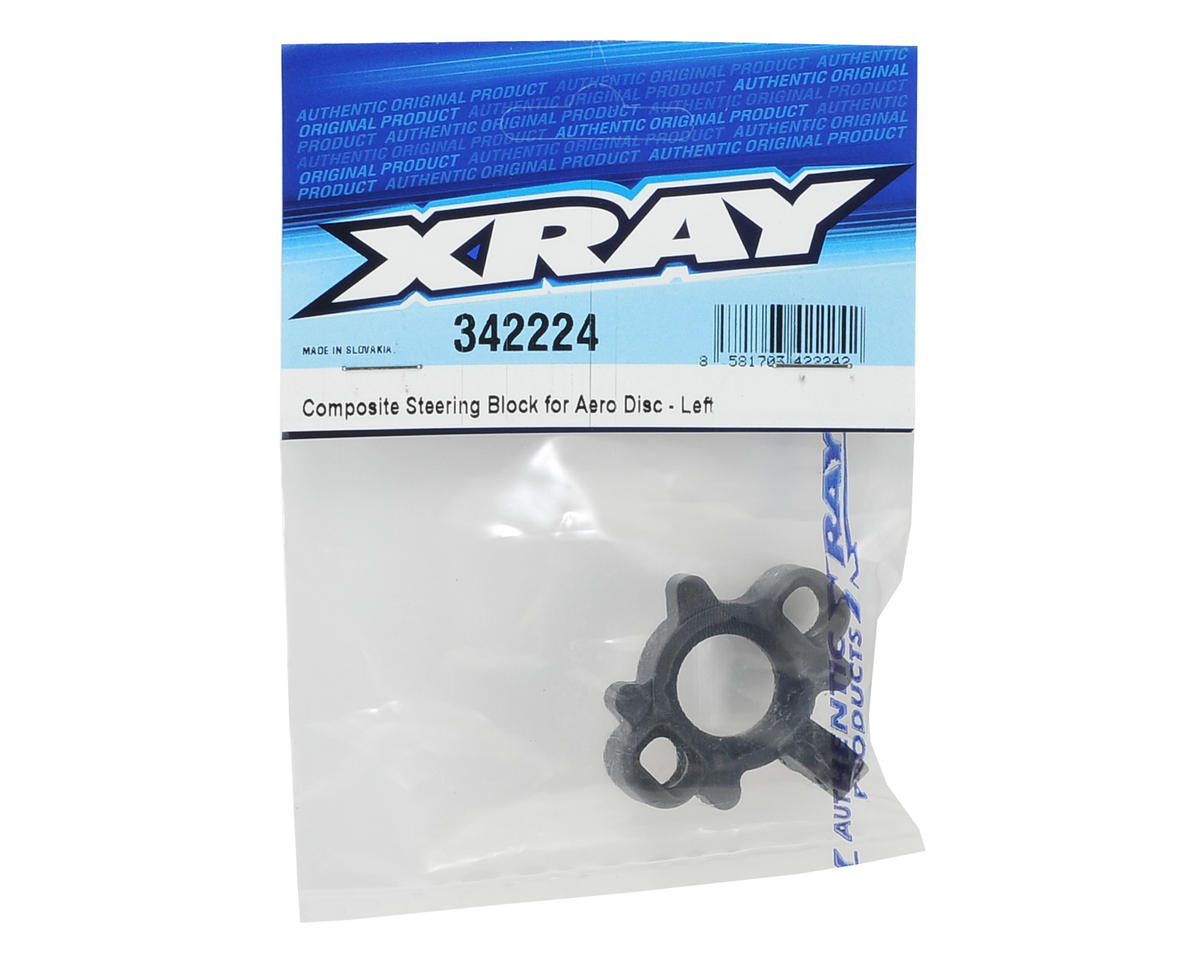 XRAY Composite Aero Disc Steering Block (Left)
