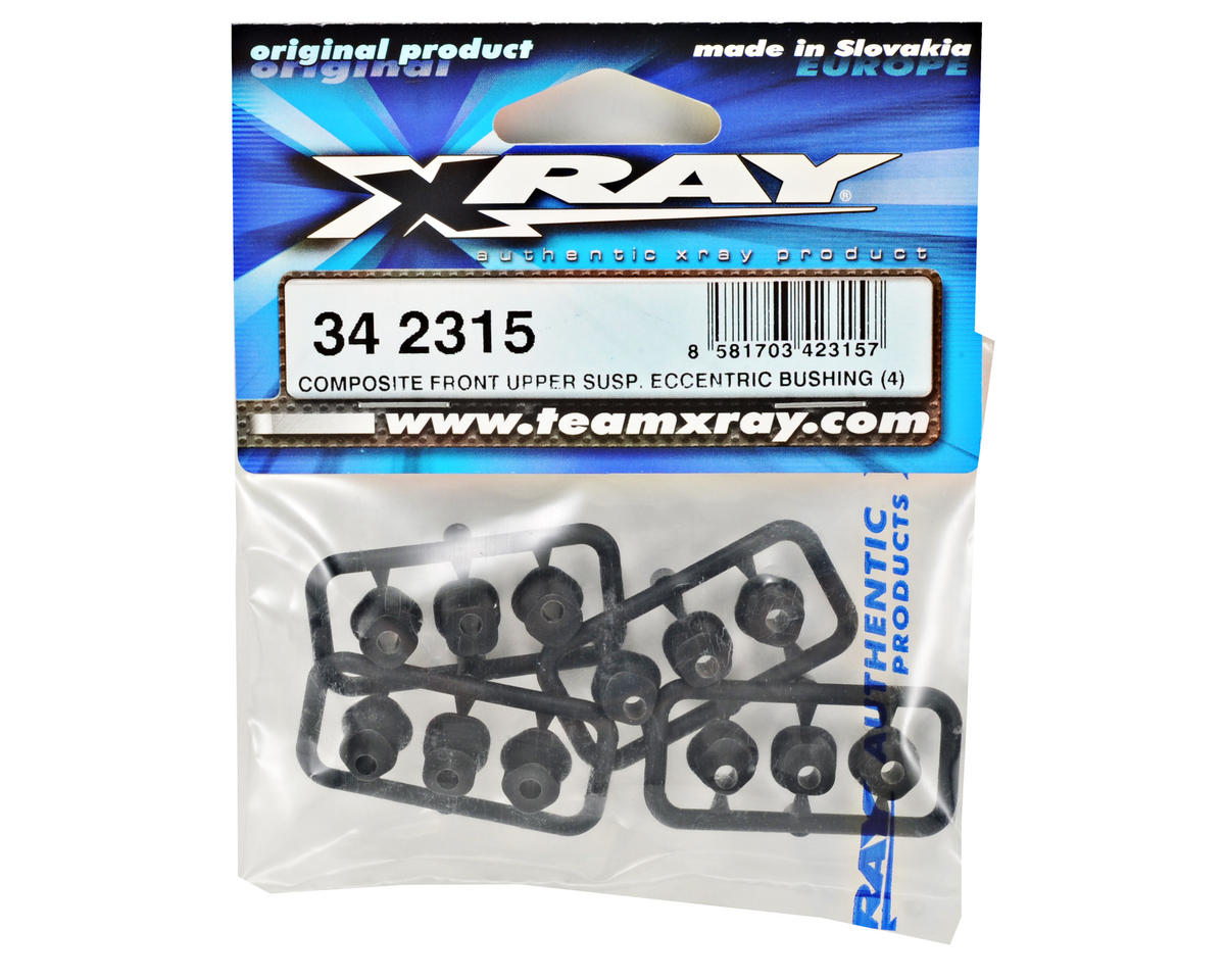 XRAY Composite Front Upper Suspension Eccentric Bushing Set (12)