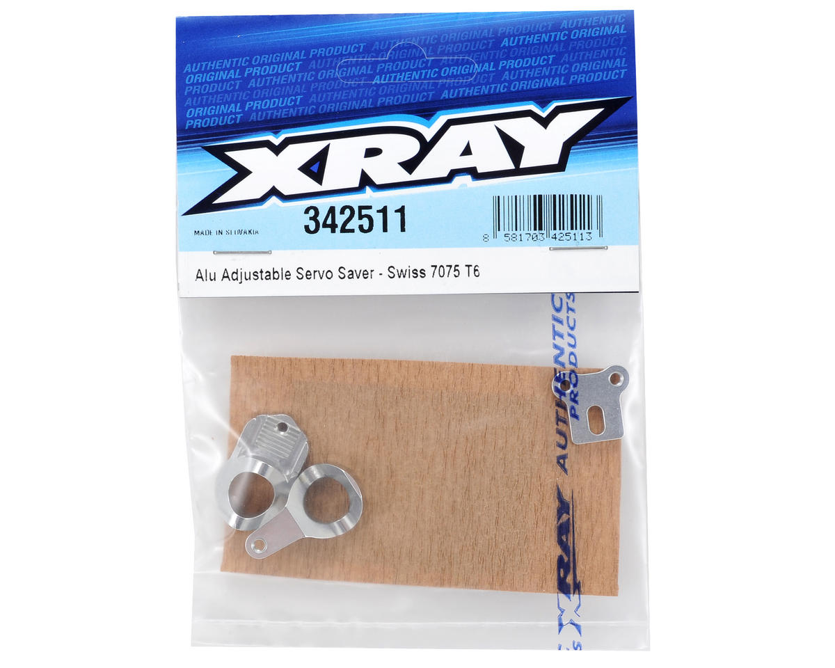 XRAY Aluminum Servo Saver Set