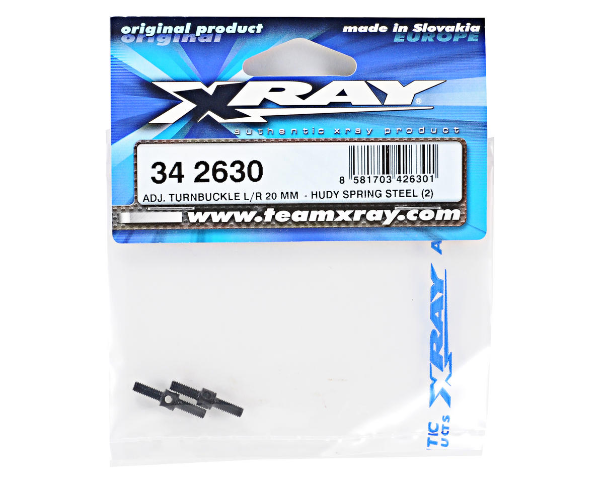 3x20mm Turnbuckle Set (2) by XRAY