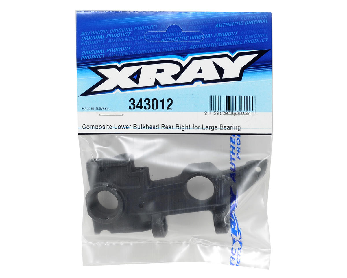 XRAY Rear Right Composite Lower Bulkhead (Large Bearing)