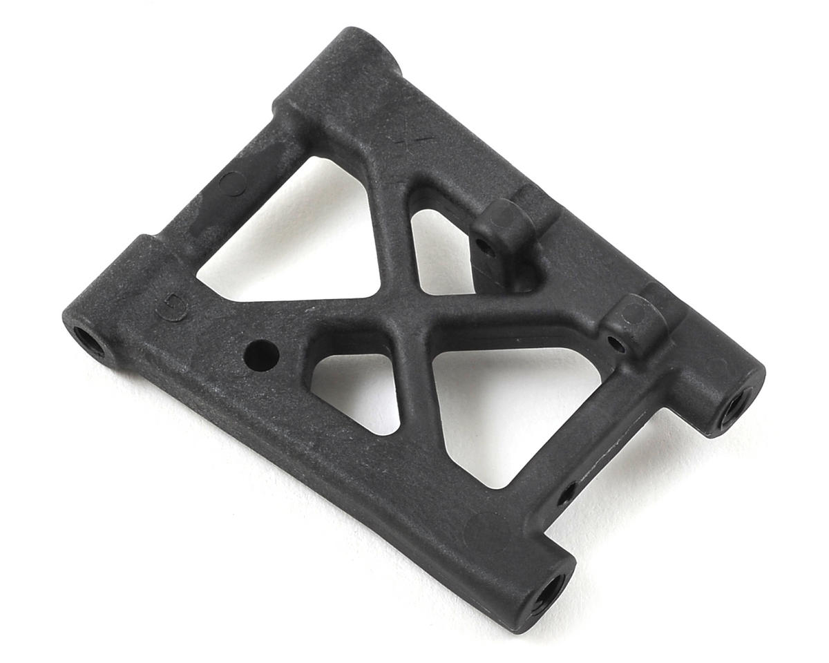 Rear Lower Graphite Suspension Arm Extension by XRAY