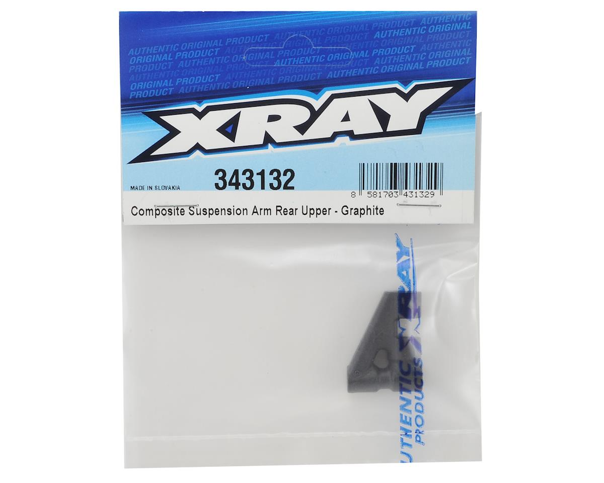 Composite Suspension Rear Upper Arm (Graphite) by XRAY