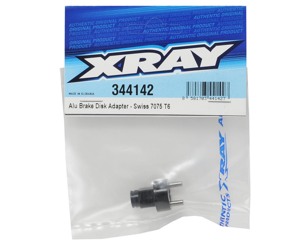 XRAY Aluminum Brake Disk Adapter (Black)