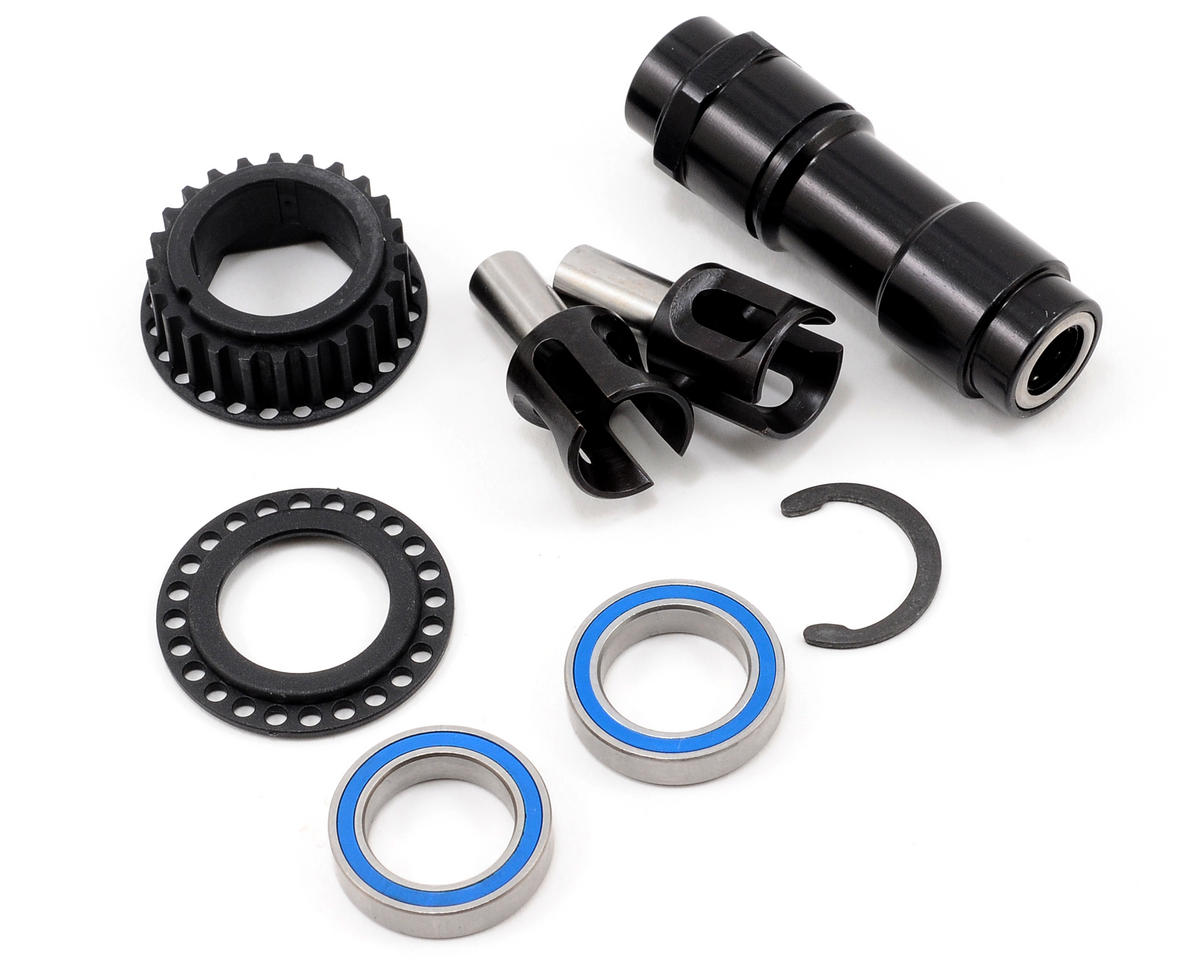 XRAY RX8 Lightweight Front One-Way Adapter Set (Black)