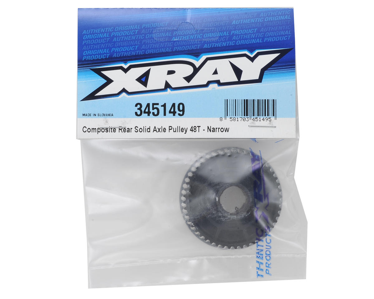 XRAY Composite Rear Solid Axle Pulley 48T (Narrow)
