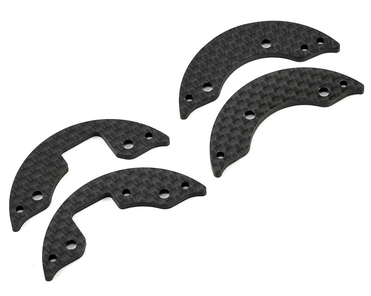 2.2mm Front Graphite Aerodynamic Disc Set by XRAY