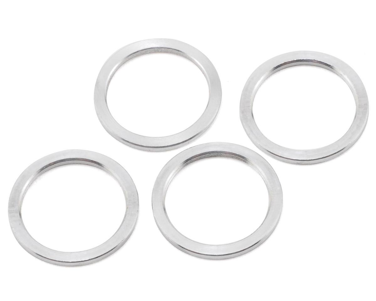 XRAY 12x15x1.0mm Aluminum Shim Set (4)