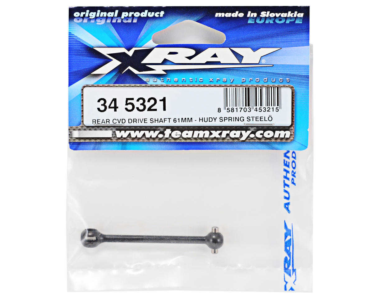 XRAY 61mm Rear CVD Driveshaft