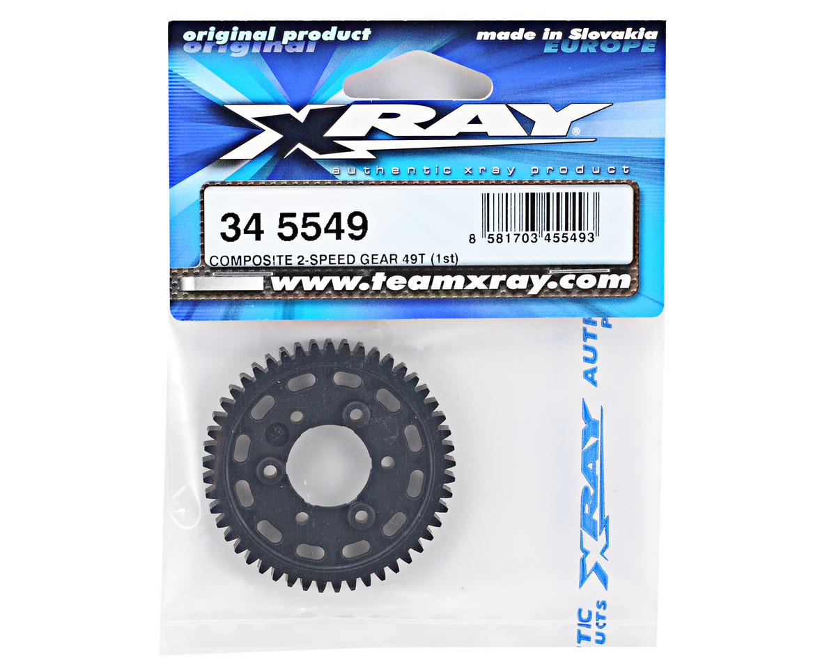 XRAY Composite 2-Speed 1st Gear (49T)