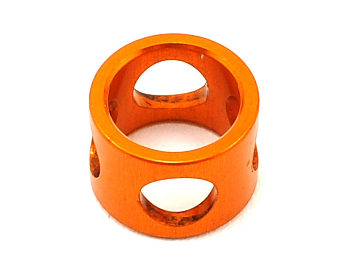XRAY RX8 Lightweight Aluminum Middle Shaft Short Locating Collar (Orange)