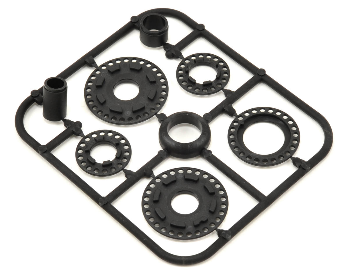 Composite Belt Pulley Cover & Collar Set by XRAY