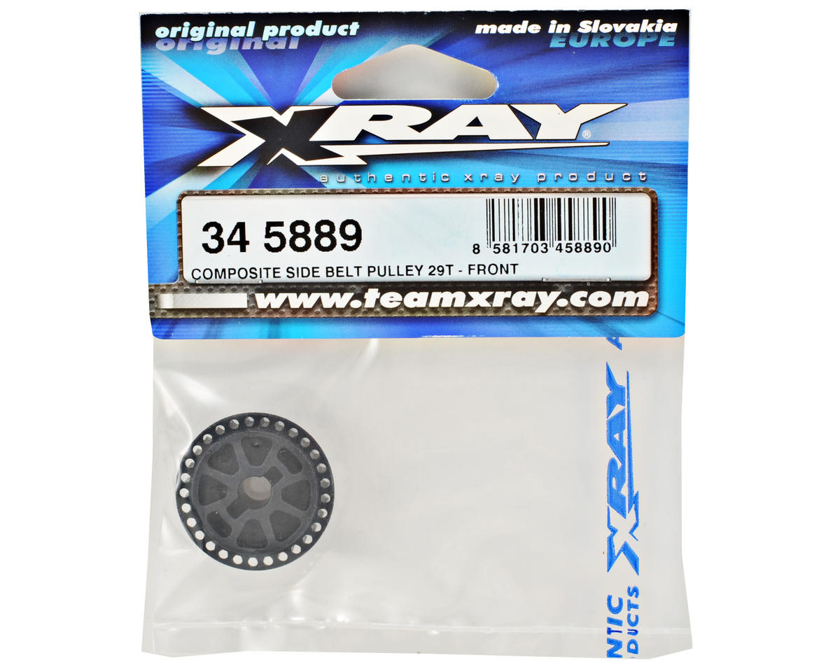 XRAY Front Composite Side Belt Pulley (29T)