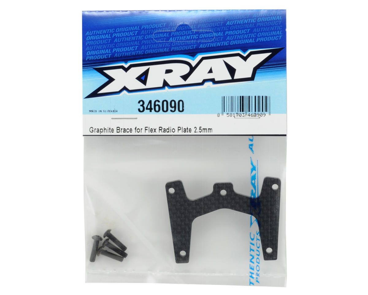 XRAY 2.5mm Graphite Flex Radio Plate Brace