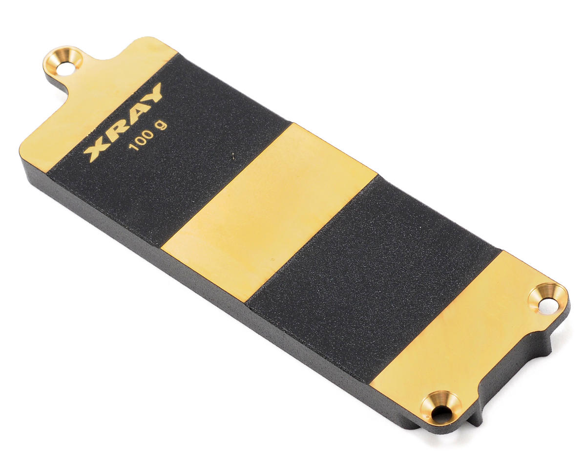 XRAY RX8 Brass LiPo Battery Plate (100g)