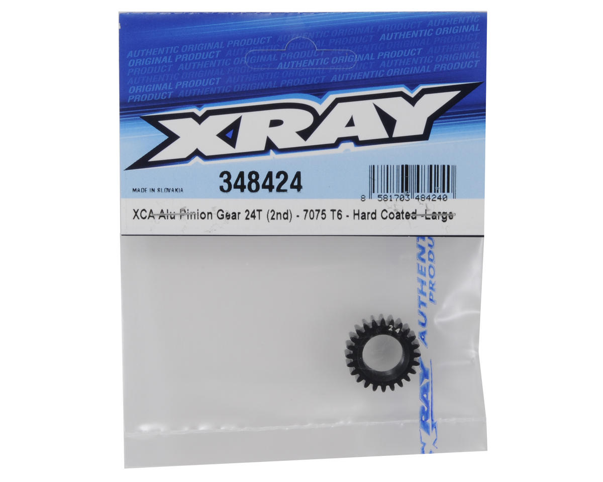 XRAY Aluminum XCA Large 2nd Gear Pinion (24T)