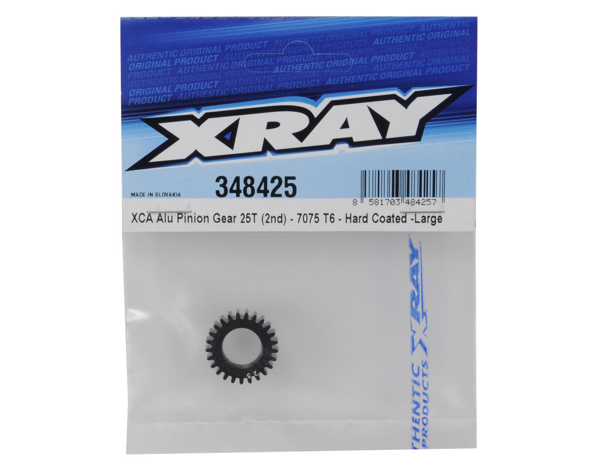 XRAY XCA Large Aluminum 2nd Gear Pinion (25T)
