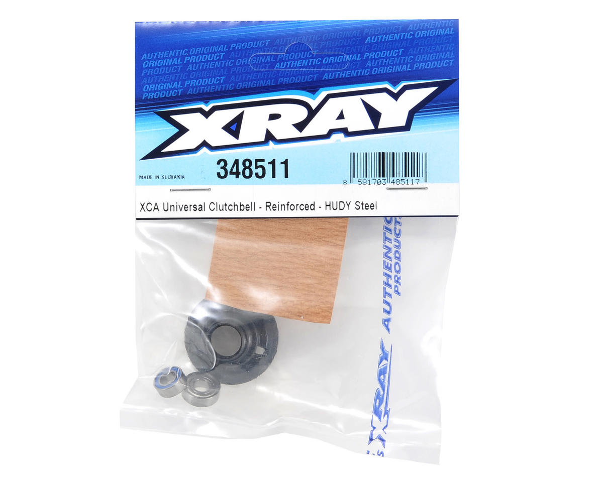 XRAY Hudy Steel XCA Universal Clutch Bell