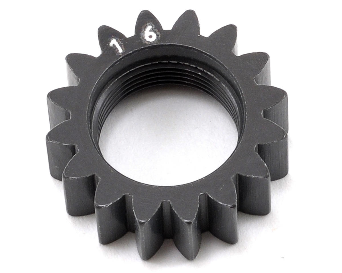 XRAY Aluminum Hard Coated Pinion Gear (16T) (1st)