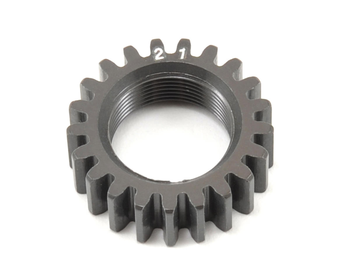 Aluminum Hard Coated Pinion Gear (21T) (2nd) by XRAY