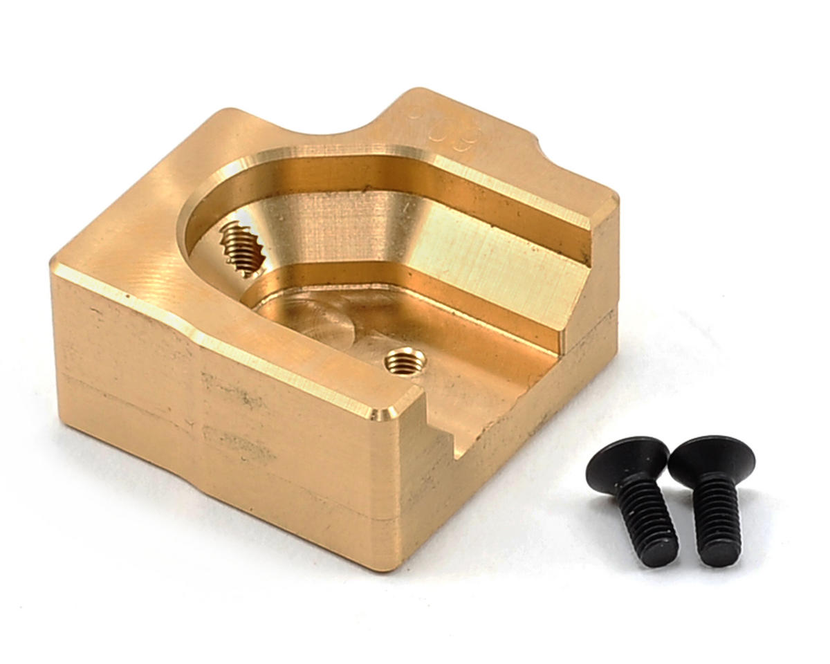 XRAY Brass Chassis Weight (60G Front)